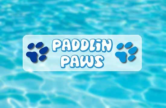 Paddlin Paws.